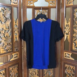 NWT Vince Camuto Color-Block Top Size XS